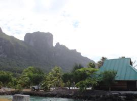 Bora-Bora Bungalow and Bora-Bora House