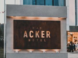 Das ACKER Hotel, Neuburg an der Donau