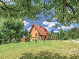 Three-Bedroom Holiday Home in Cabar, Gorači (рядом с городом Kozji Vrh)