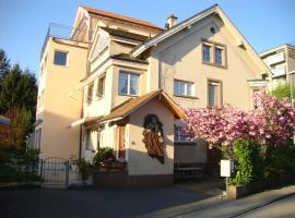 Niros Bed & Breakfast, Basel (Grenzacher Horn yakınında)