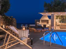Damma Beachfront Luxury Villa, Камари (рядом с городом Agia Paraskevi)