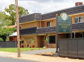 Fountain View Motel, Dubbo (Wellington yakınında)