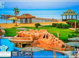 Chalet with Private Garden in Bluebay Sokhna - Families Only