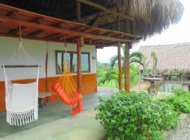 Wind House Tayrona Hostel, Santa Marta (Cañaveral yakınında)