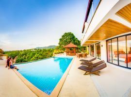 Huge Seaview Pool - Mountain House 4 bedrooms, Koh Lanta