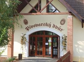 Pivovarský dvůr Zvíkov, Zvíkovské Podhradí (Svatá Anna yakınında)