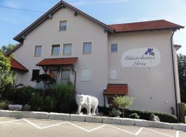 Gästehaus Iris, Ichenhausen (Waldstetten yakınında)