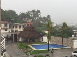Como Departamento En Manzanillo A Unos Metros De La Playa