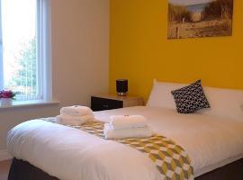 Donington 5 Serviced Apartment, Касл Доннингтон (рядом с городом Shardlow)