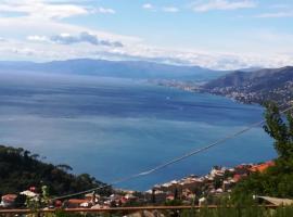 194 SS1 Un balcone tra il cielo e il mare, Camogli (Portofino Vetta yakınında)
