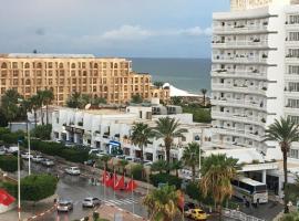 Sousse Corniche Taib Mhiri Roadin Front of Riadh Palm Hotel