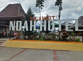 Noah Hotel Silangit, Siborongborong (рядом с городом Balige)
