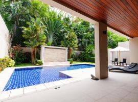 Luxury pool villa at the Residence, Bang tao beach