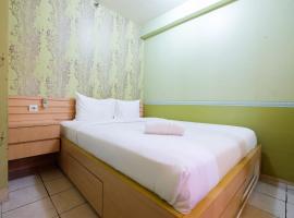 Budget 2BR Green Pramuka City Apartment By Travelio