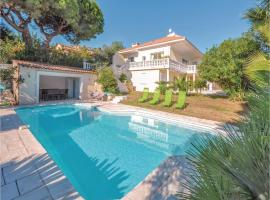Holiday Home Golfe Juan with Sea View 01