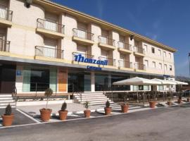 Hotel Manzanil, Лоха (рядом с городом Салар)