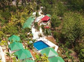 Kubu Reot Taman Asri Villa