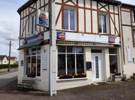 Hotel De La Gare, Sainte-Gauburge-Sainte-Colombe (рядом с городом Moulins-la-Marche)