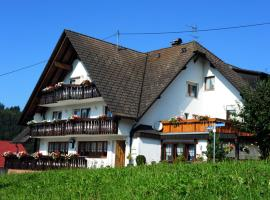 Pension Richebächli, Elzach (Oberwinden yakınında)