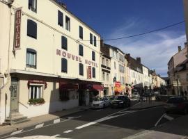 Nouvel Hotel, Лон-ле-Сонье (рядом с городом Montmorot)
