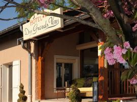 Logis Hotel Des Grands Vins, Fleurie (рядом с городом Chiroubles)