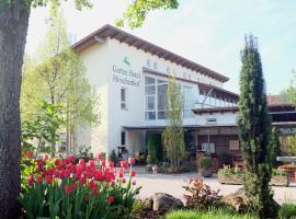 Garten Hotel Hirschenhof, Parsberg (Beratzhausen yakınında)