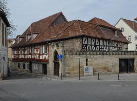 Hotel Hahnmühle 1323, Coburg (Lautertal yakınında)