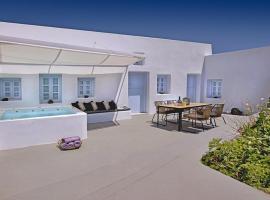 Megalochori Villa Sleeps 6 Air Con WiFi