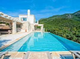 Barbati Villa Sleeps 10 Pool Air Con WiFi