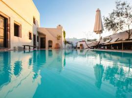 Megalochori Villa Sleeps 4 Pool Air Con WiFi