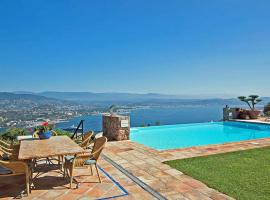 Theoule-sur-Mer Villa Sleeps 10 Pool Air Con WiFi