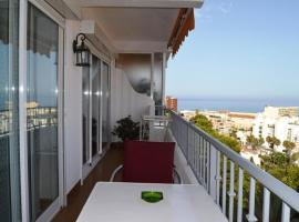 apartment with one bedroom in torremolinos, with wonderful sea view, pool acc...