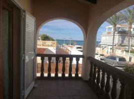 apartment with one bedroom in dénia, with wonderful sea view and furnished te...