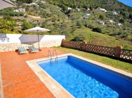 Country house with pool and fireplace in Frigiliana