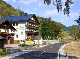 Gasthof - Pension Ödsteinblick, Johnsbach (Radmer an der Hasel yakınında)