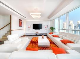 The Wawes tower Hige Penthouse in Dubai Marina