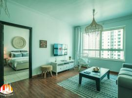 A C Pearl Holiday - Two steps to JBR Beach