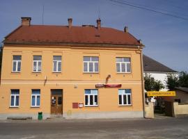 Penzion Modrý Jelen, Vidnava (Stará Červená Voda yakınında)