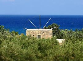 Authentic Cretan Stone Windmill