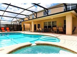 Windsor Hills 6 Bedrooms Pool Villa, 2.5 miles to Disney - 2607DS