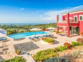 Sfakera Villa Sleeps 14 Pool Air Con WiFi
