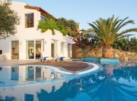 Ellinika Villa Sleeps 6 Pool Air Con WiFi
