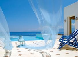 Ellinika Villa Sleeps 2 Pool Air Con WiFi