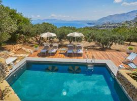 Scopello Villa Sleeps 15 Pool Air Con