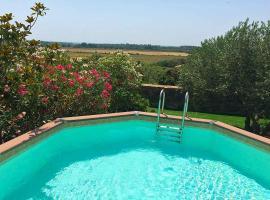 Portiragnes Villa Sleeps 9 Pool