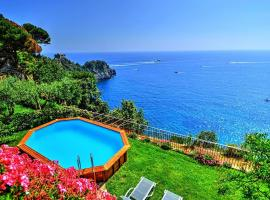 Conca dei Marini Villa Sleeps 10 Pool Air Con WiFi