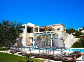 Loggos (Paxos) Villa Sleeps 6 Air Con WiFi