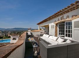 Mougins Villa Sleeps 14 Pool WiFi