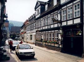 Hotel garni Weißes Roß, Stolberg (Harz)