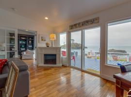 New! Picturesque, modern yet cozy Beach House just steps to the beach!
